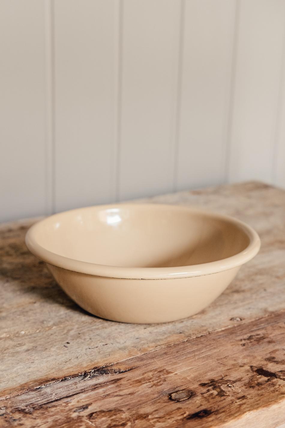 Enamel Bowl Brown