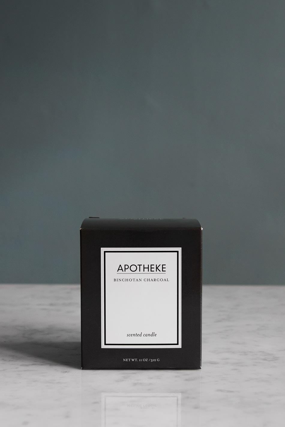 Doftljus Apotheke Charcoal