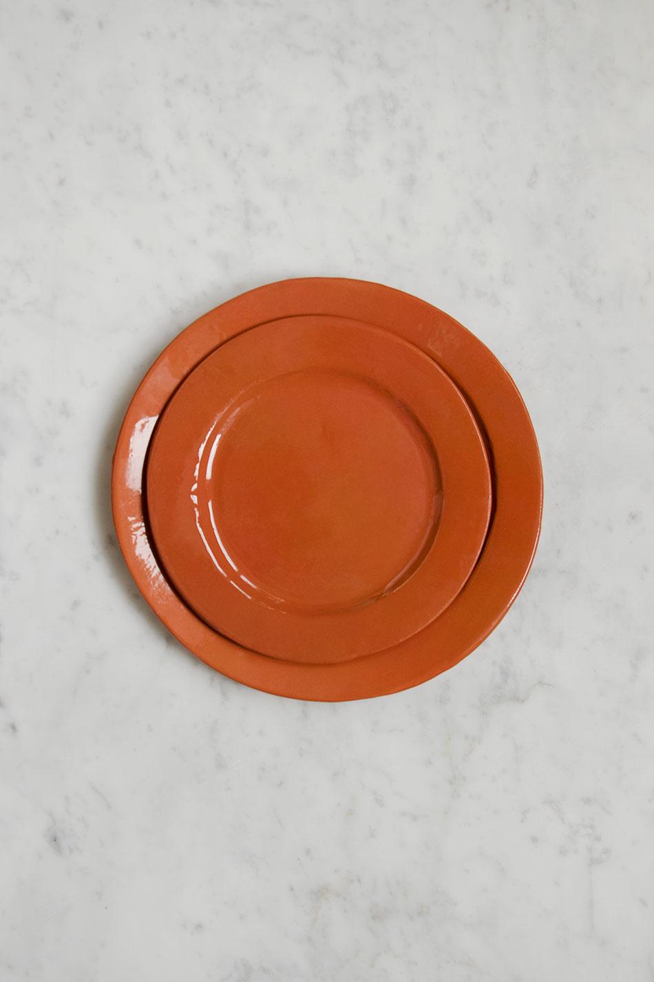 Assiett Terrakotta | Erika Petersdotter