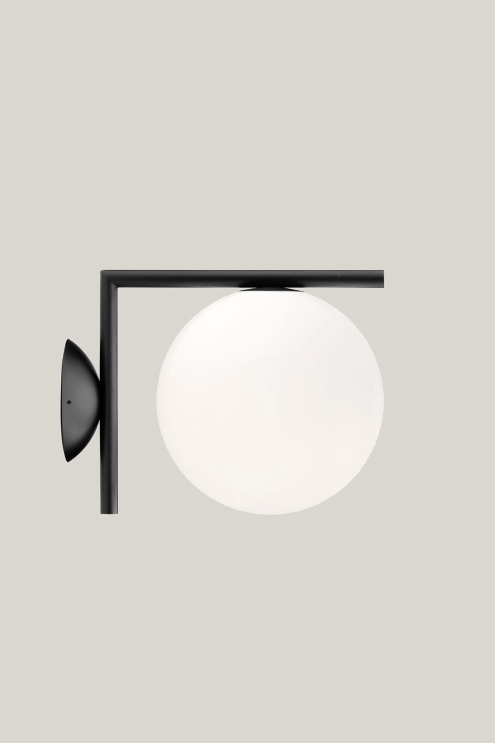 FLOS Ceiling/Wall IC Light Outdoor S Black