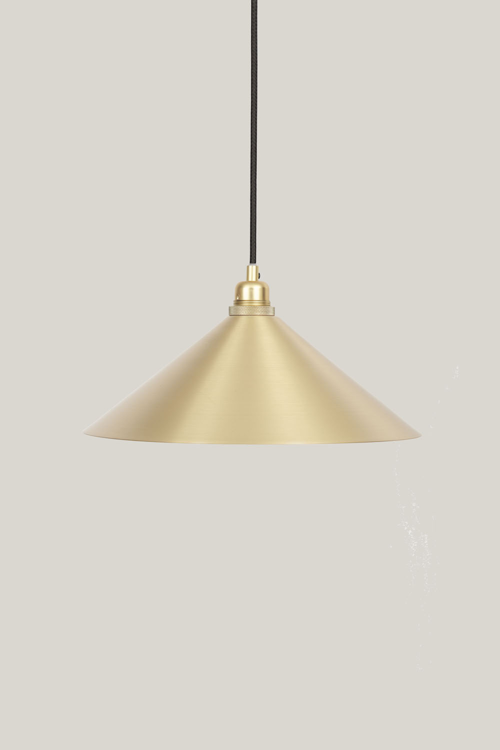 Cone Shade Brass Large