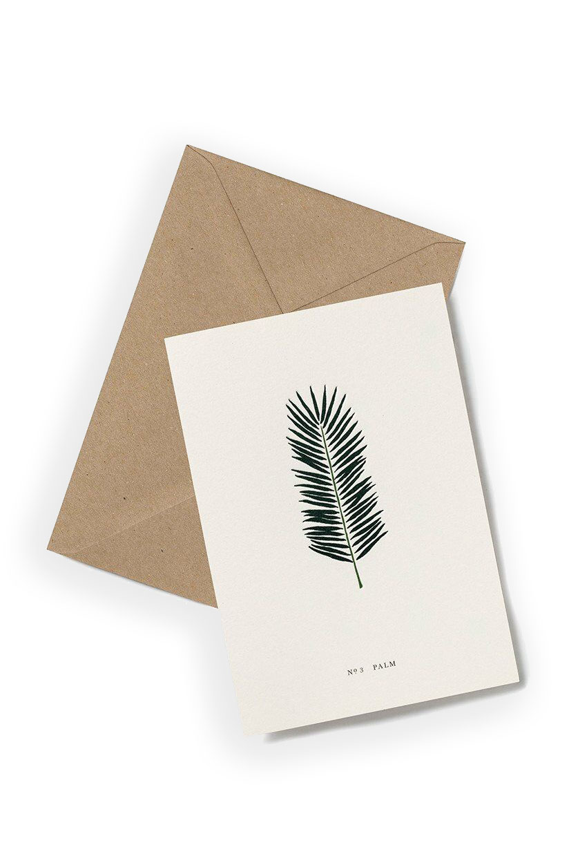 Greeting Card PALM