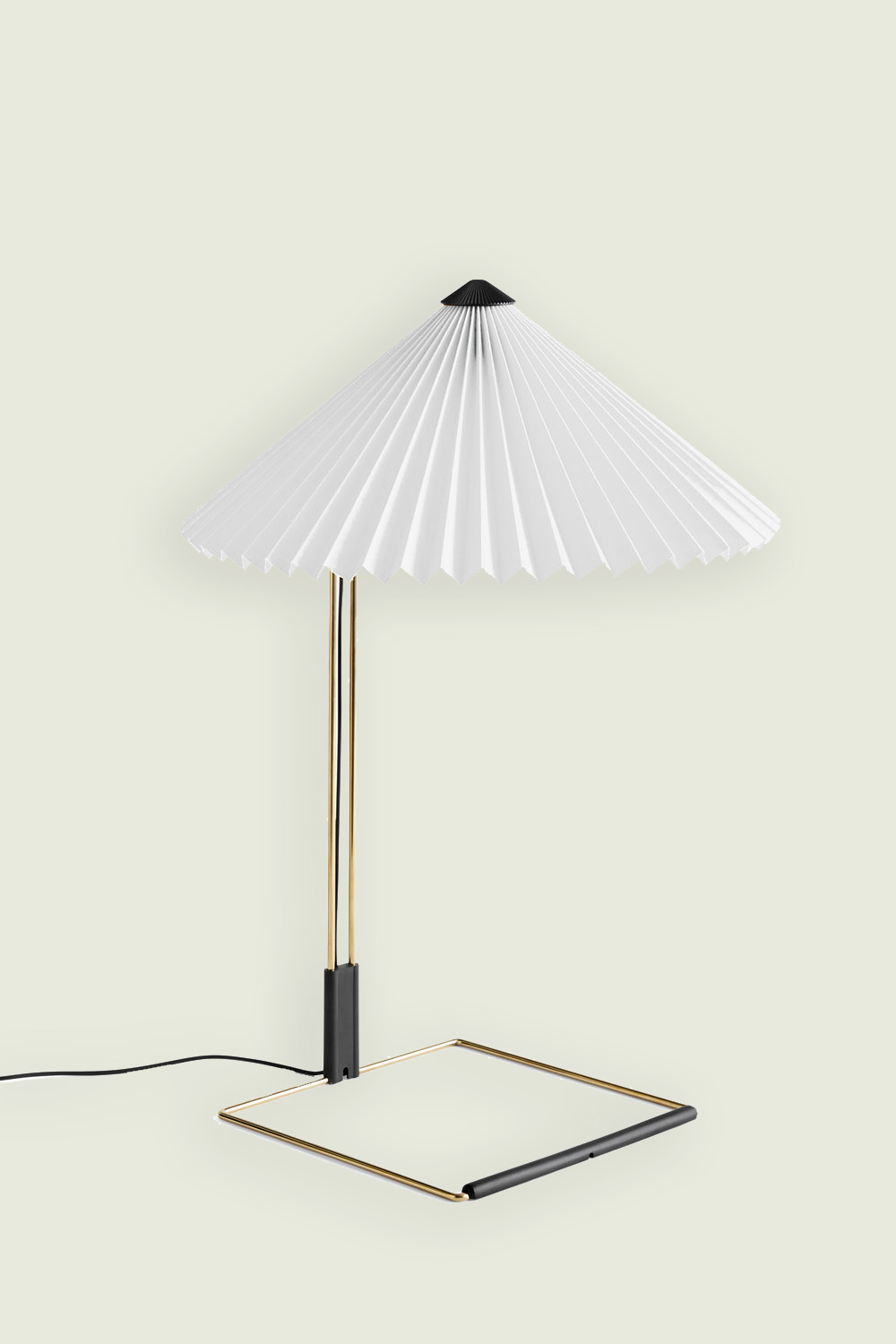 Matin Table Lamp White