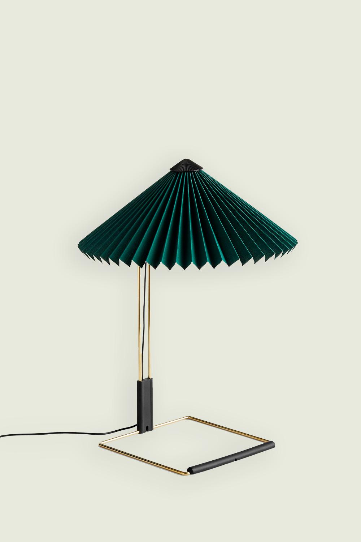 Matin Table Lamp Small Green