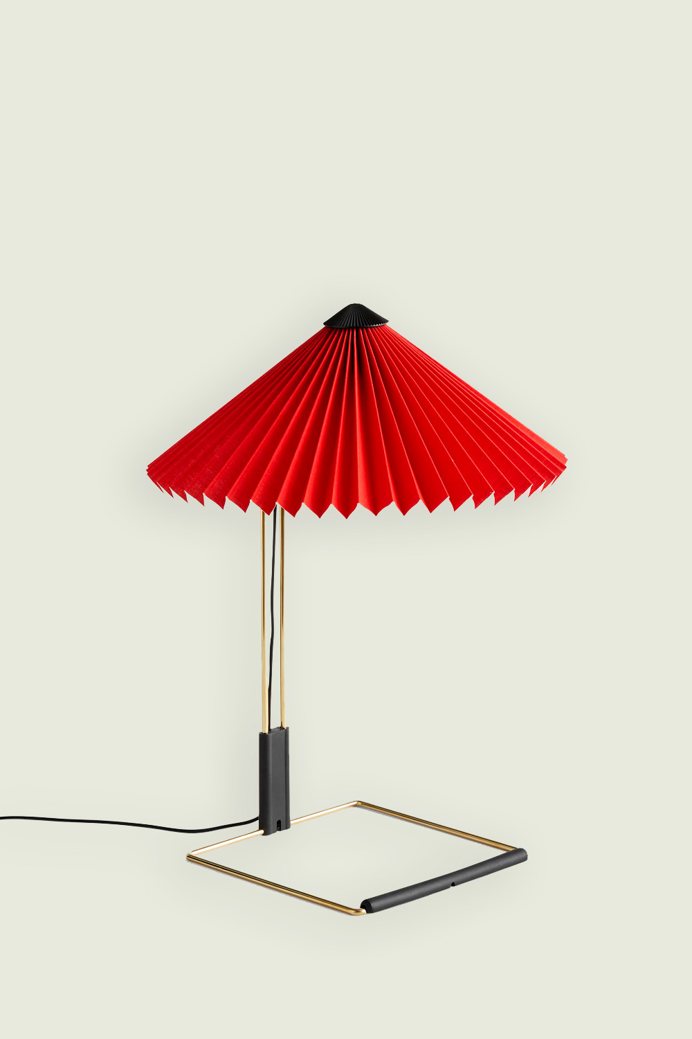 Matin Table Lamp Small Red