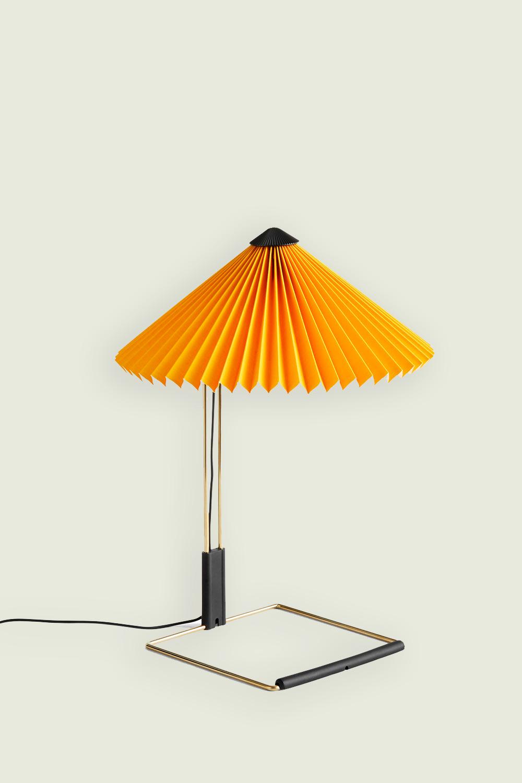Matin Table Lamp Small Yellow