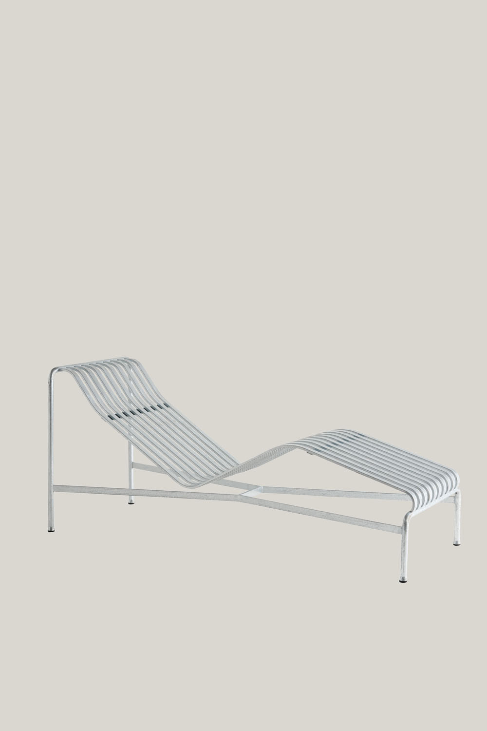 Palissade Chaise Lounge Hot Galvanised
