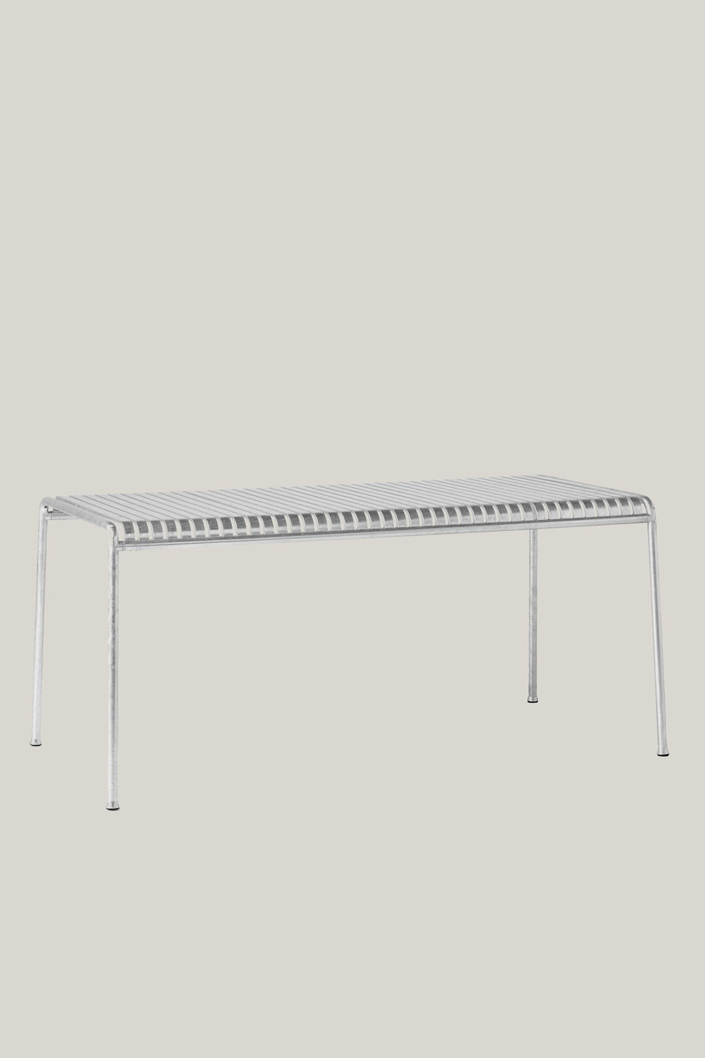 Palissade Table 160x80cm Hot Galvanised