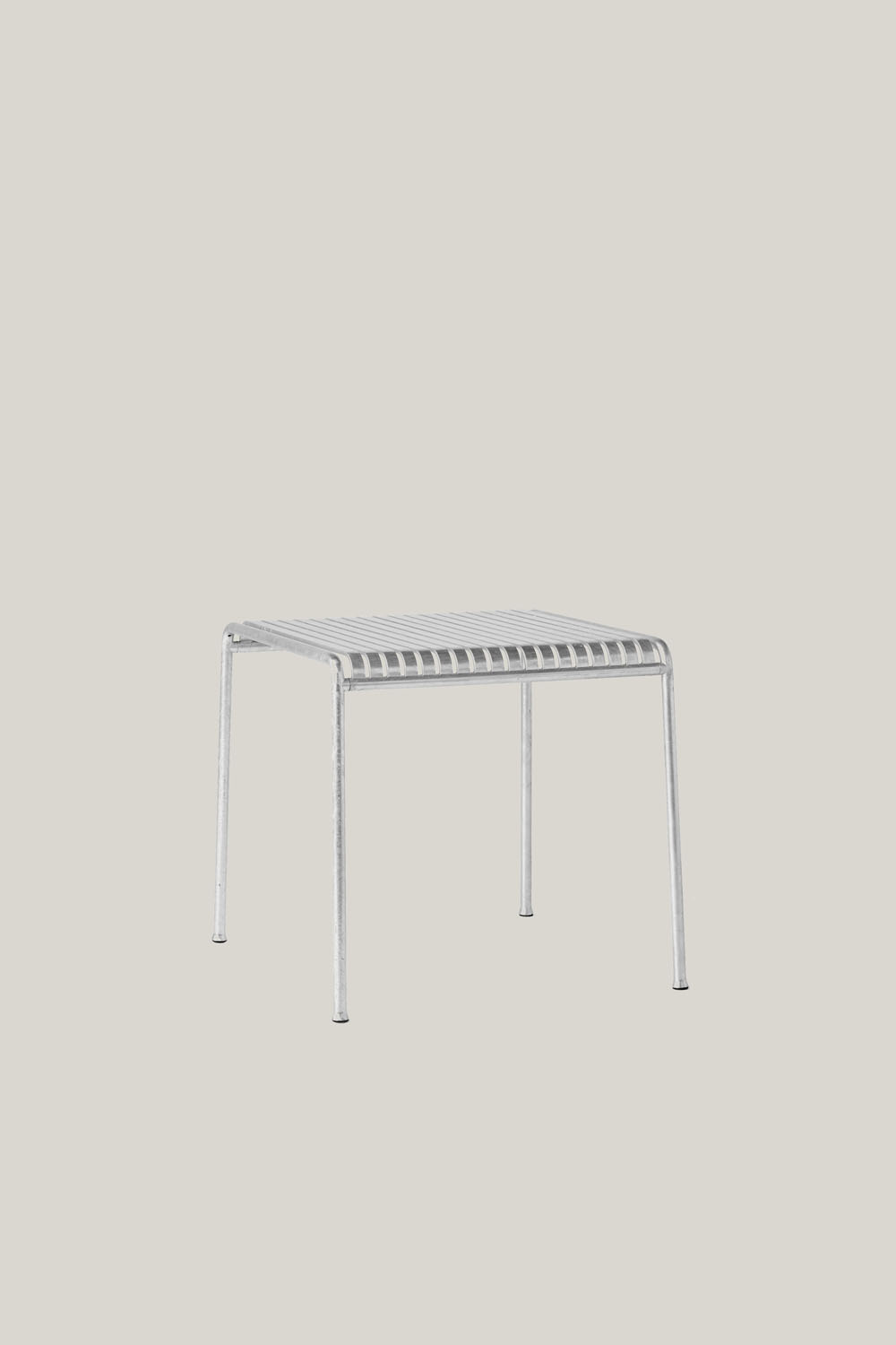 Palissade Table 80x80 cm Hot Galvanised