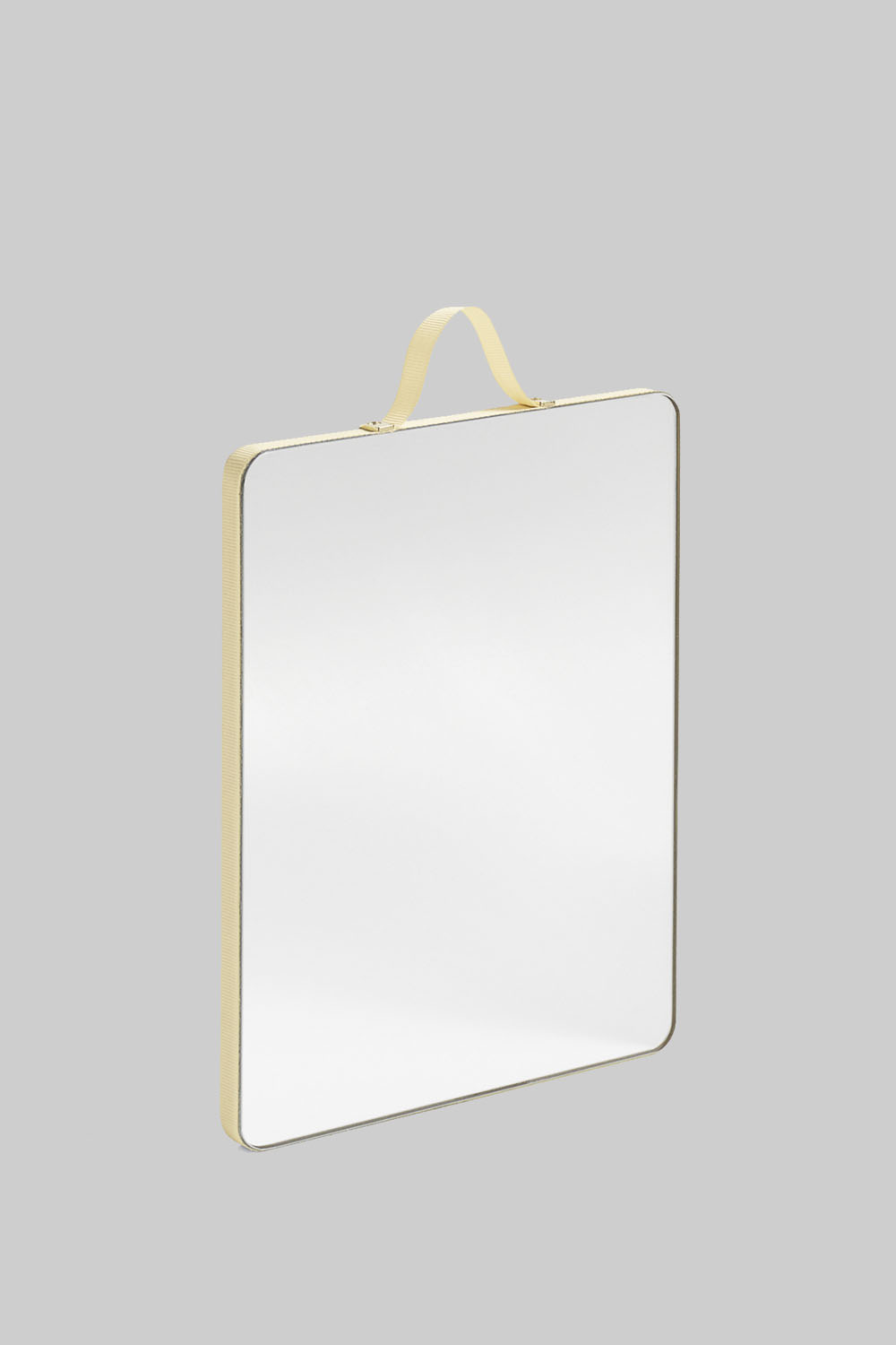 Ruban Mirror Square Yellow