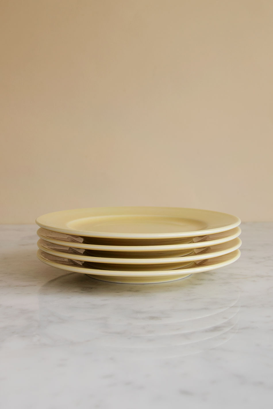 Rainbow Plate Light Yellow
