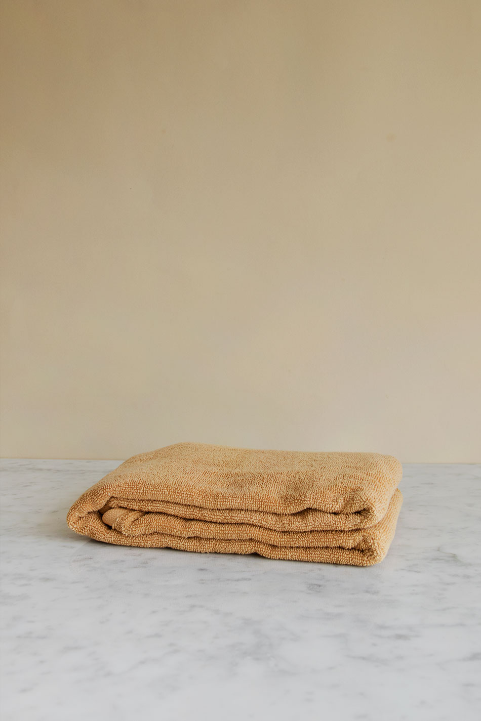 Guest Towel Warm Yellow
