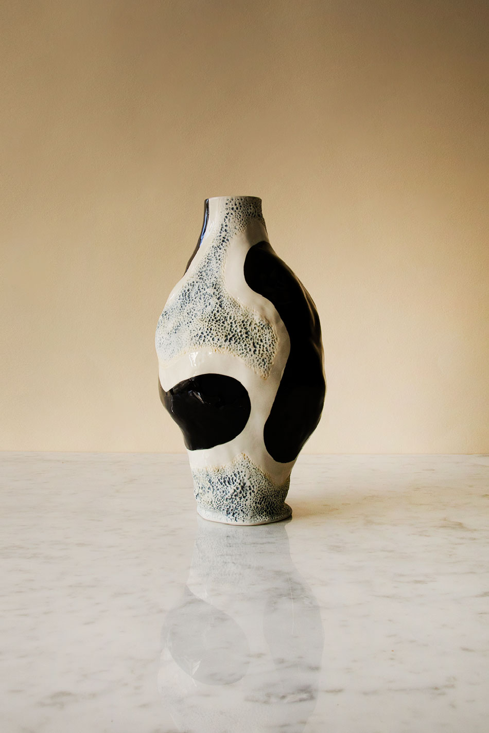 Jessica Hans Vase Glossy cow