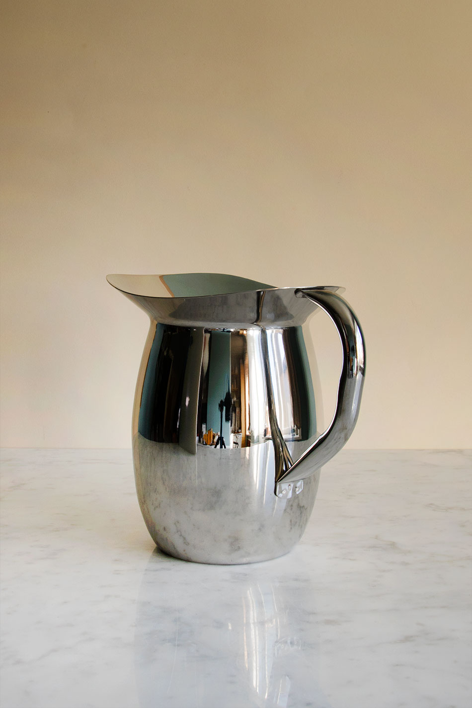Indian Steel Pitcher