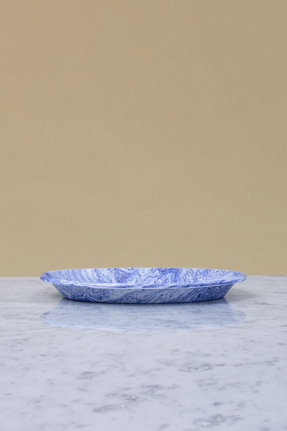 Soft Ice Blue Serveringsfat
