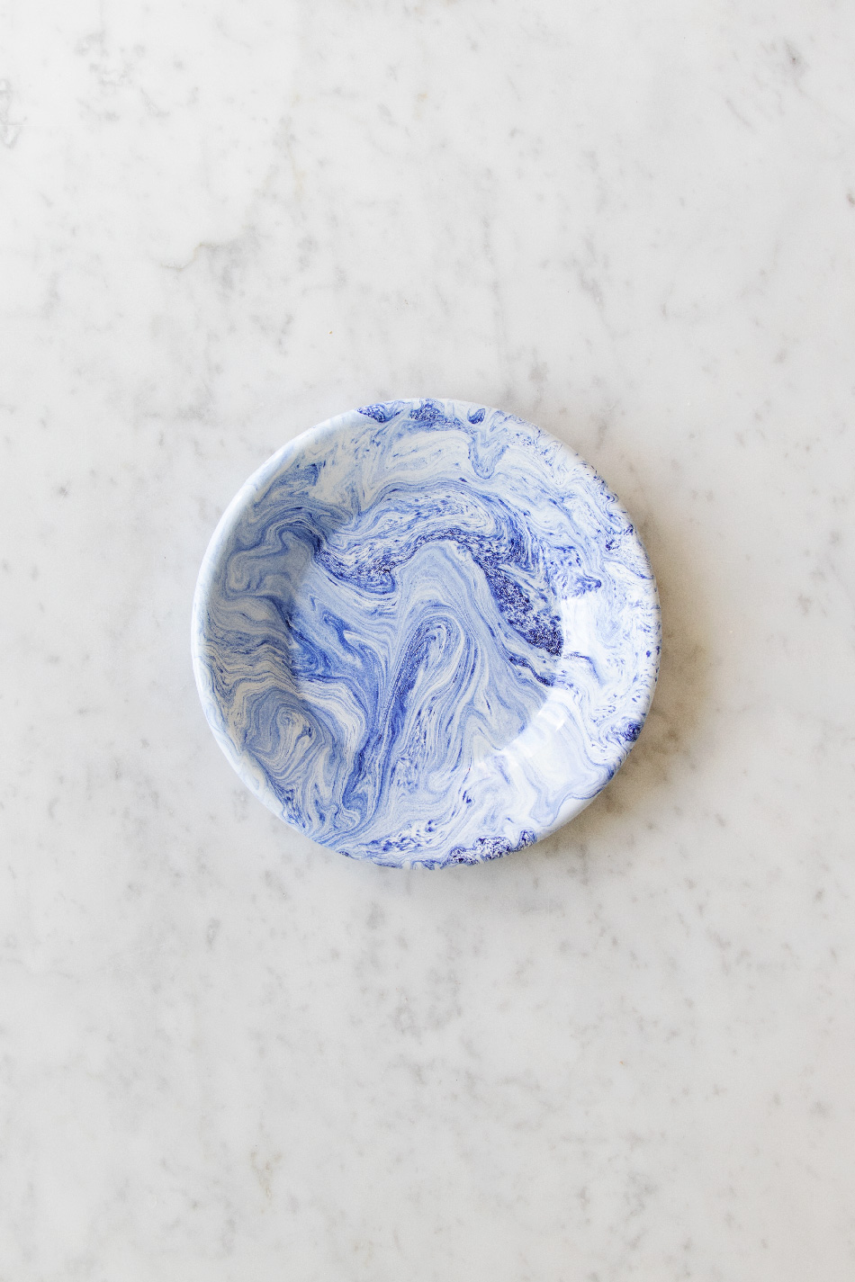 Soft Ice Assiett Blue