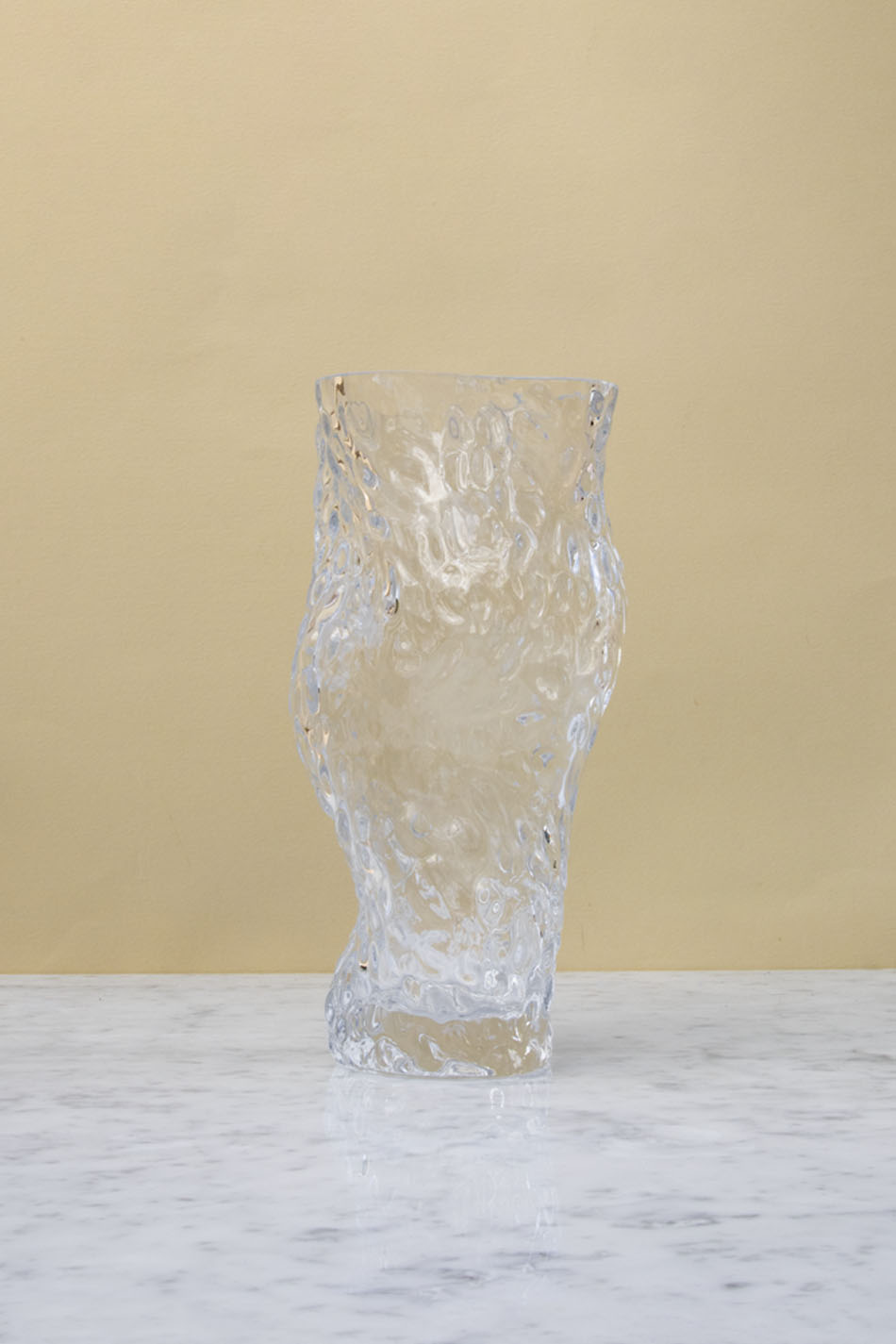 Ostrea Rock Vase Clear