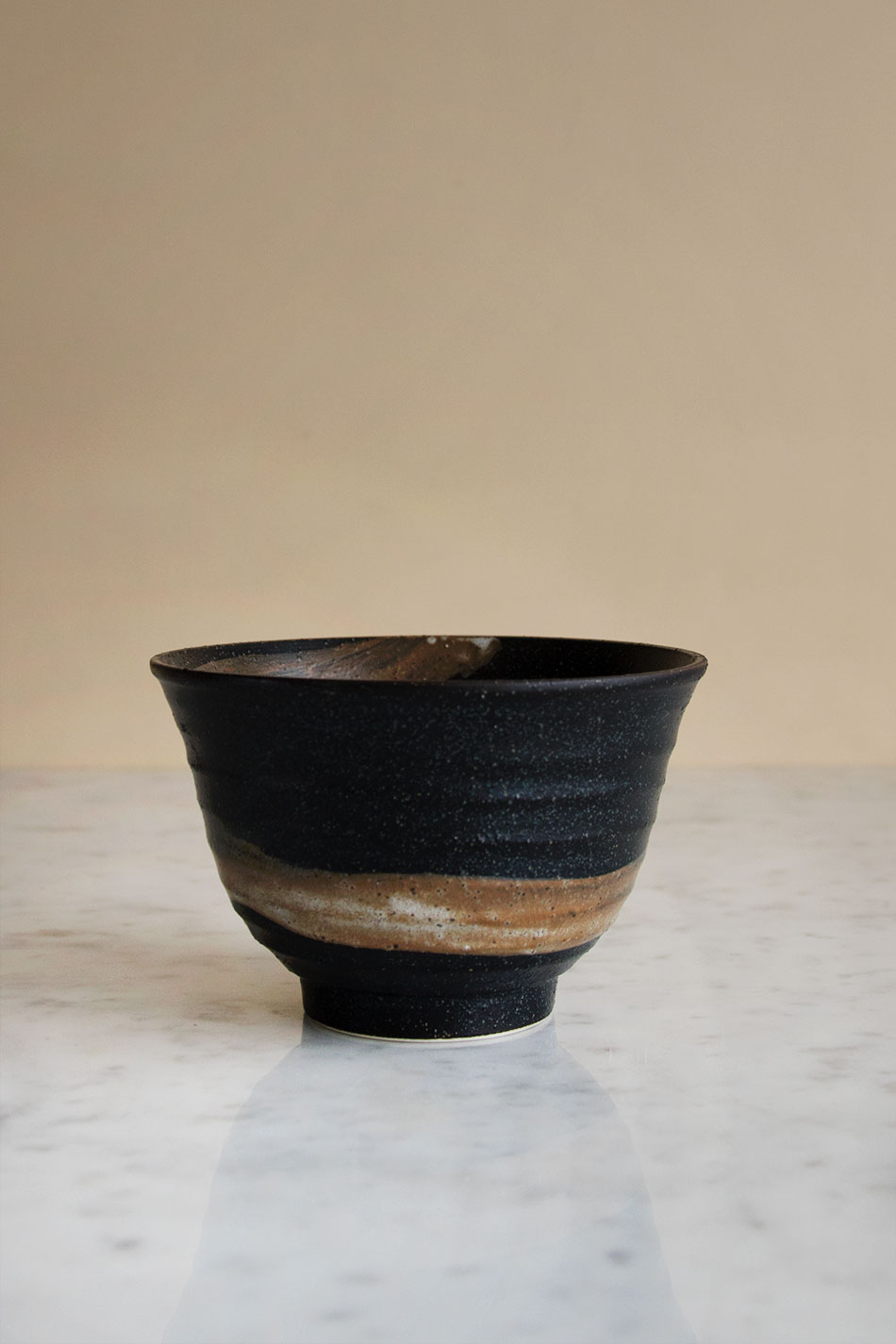 Japanese Matcha Bowl Black