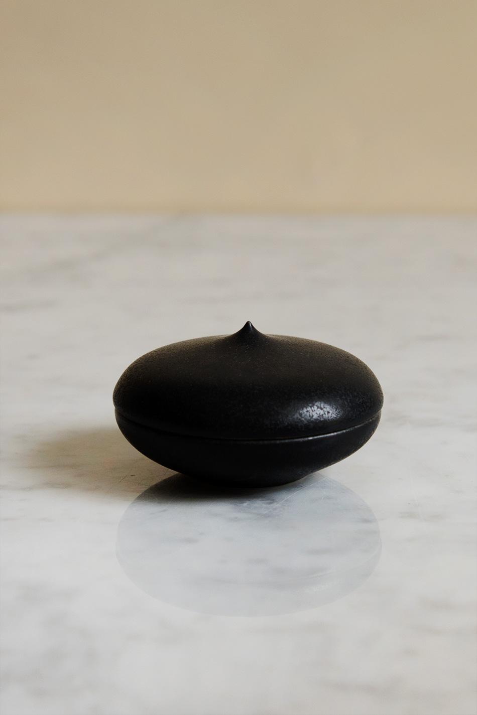 Keramikask Svart Topp