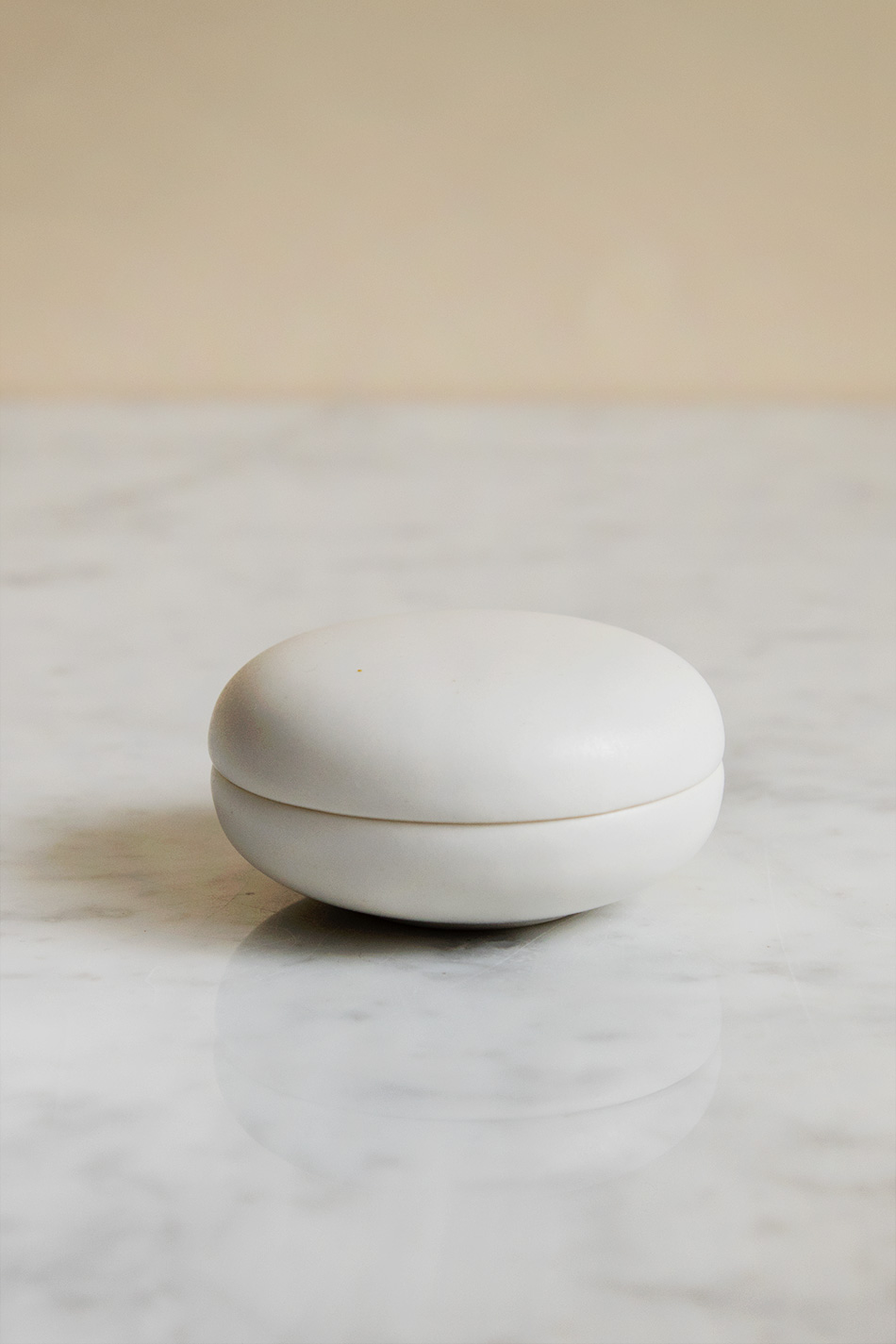 Keramikask Vit