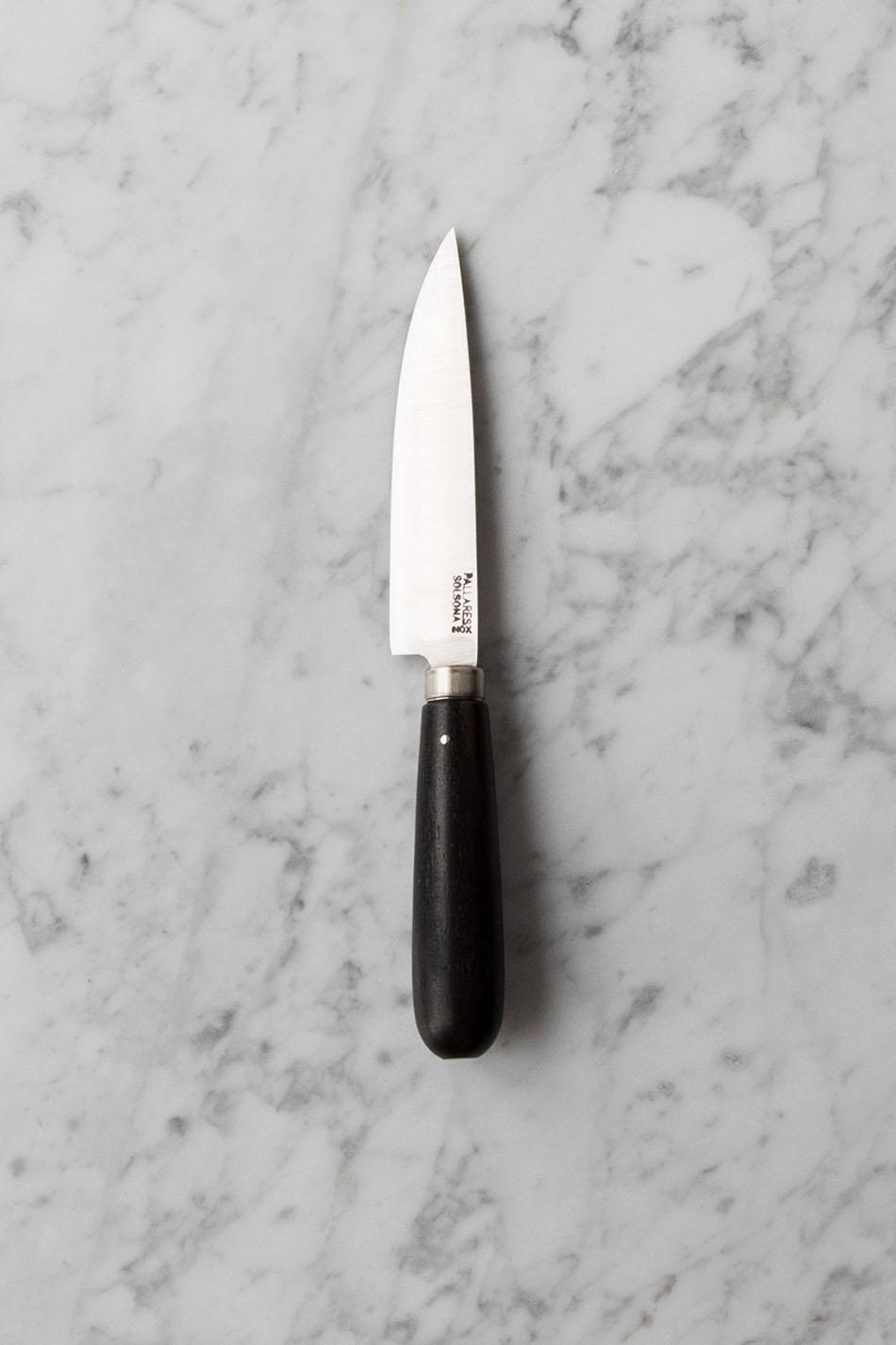 Pallarès Kökskniv Ebony 12 cm