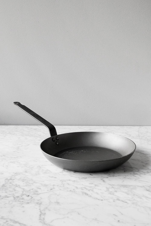 Mauviel Kolstålspanna Ø 28 cm