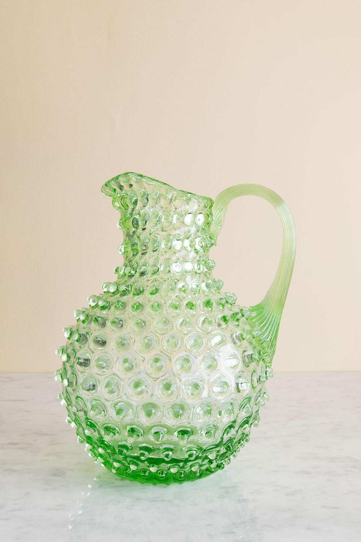 Karaff Kristall Grön 2,2 L