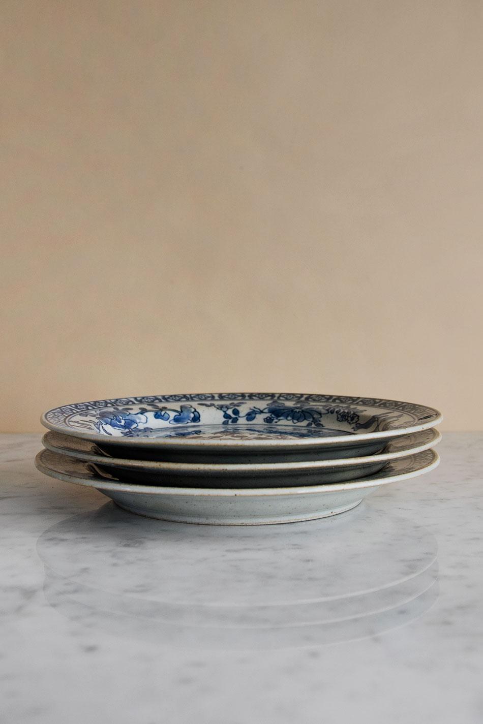 Kyoto Plate Handmålad