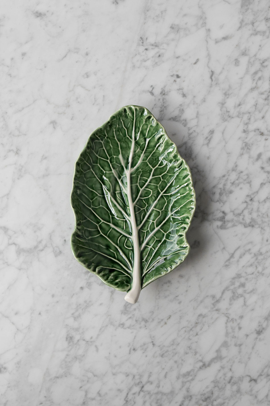 Cabbage Platter Leaf
