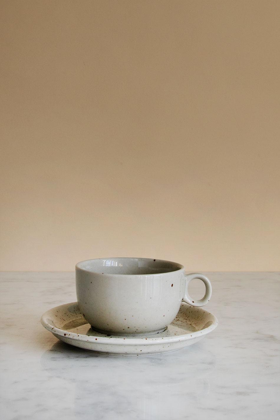 Kaffekopp & Fat Natural 22cl