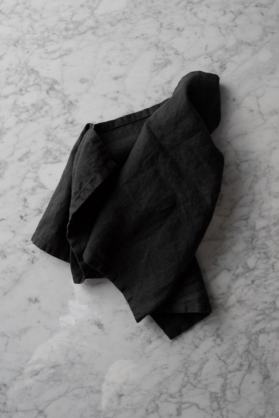 Kökshandduk Linne Granite