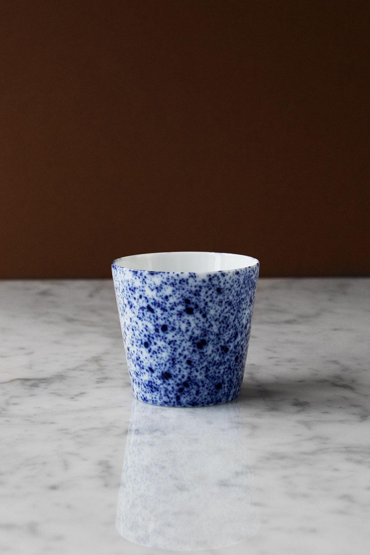 Kaffekopp Magma Blue