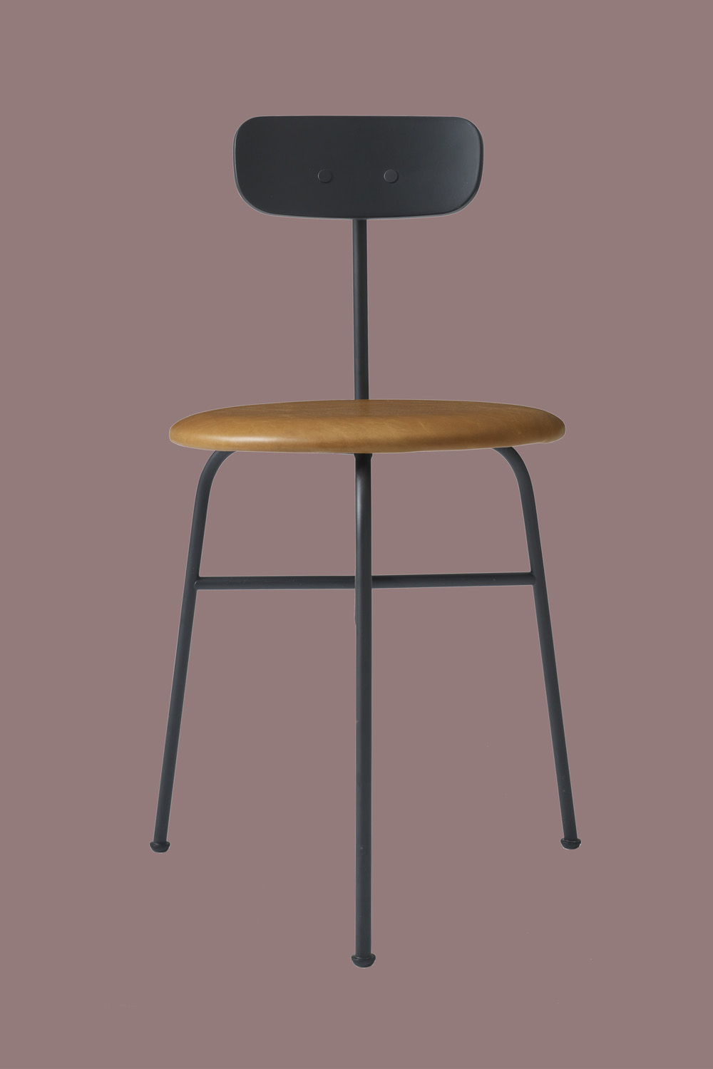 Afteroom Dining Chair Black/Cognac