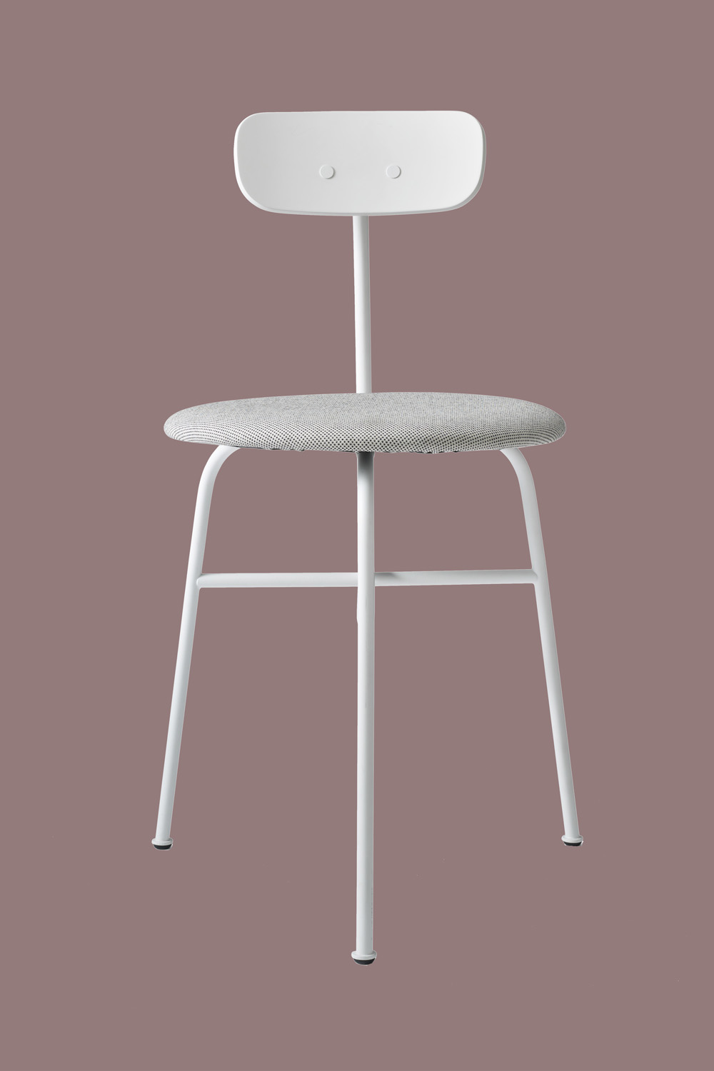 Afteroom Dining Chair White Textile