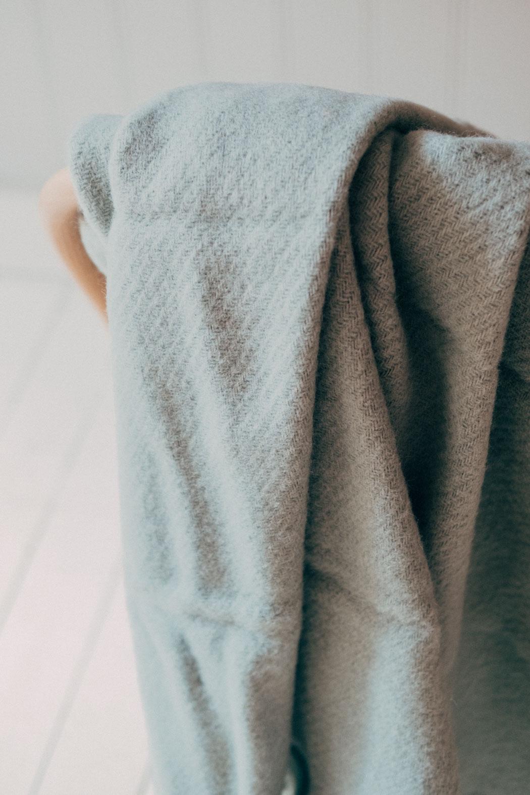 Mono Blanket Verdigris Green