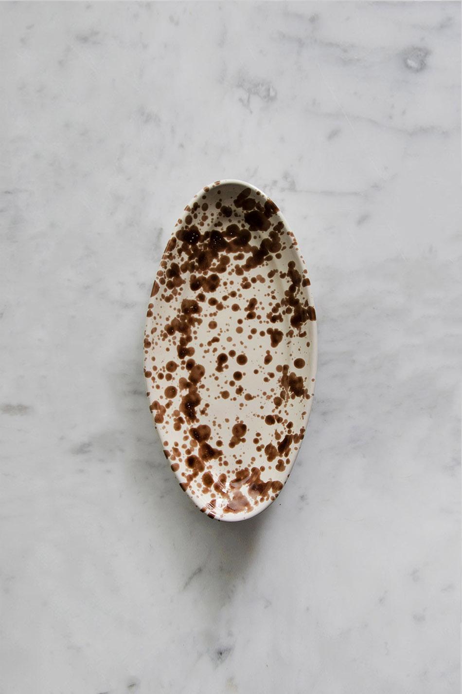 Serveringsfat Piccolo Spruzzi Cioccolato