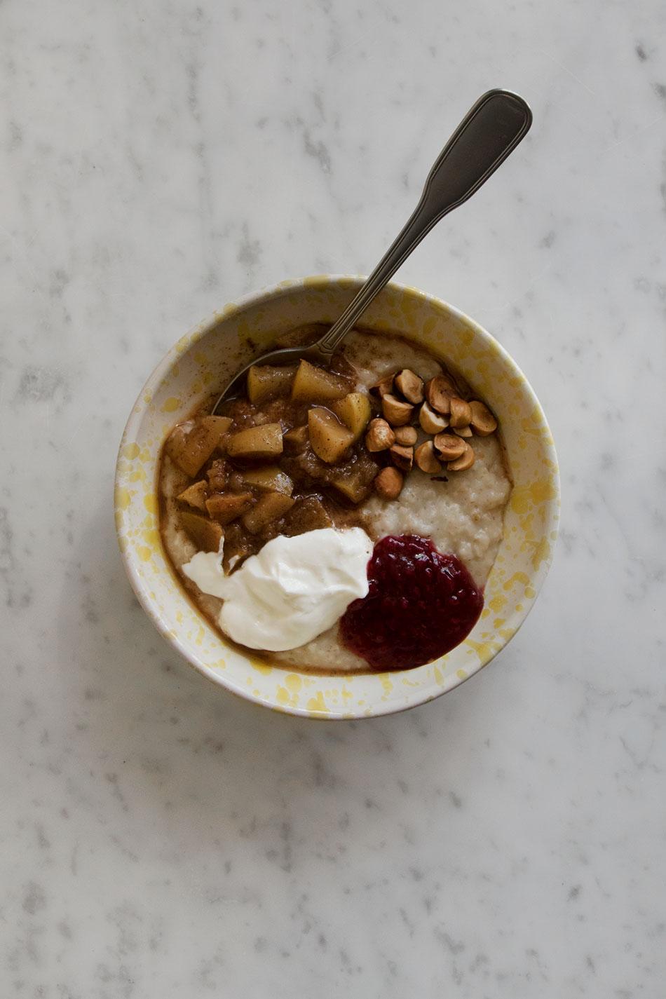 Frukostskål Spruzzi Giallo