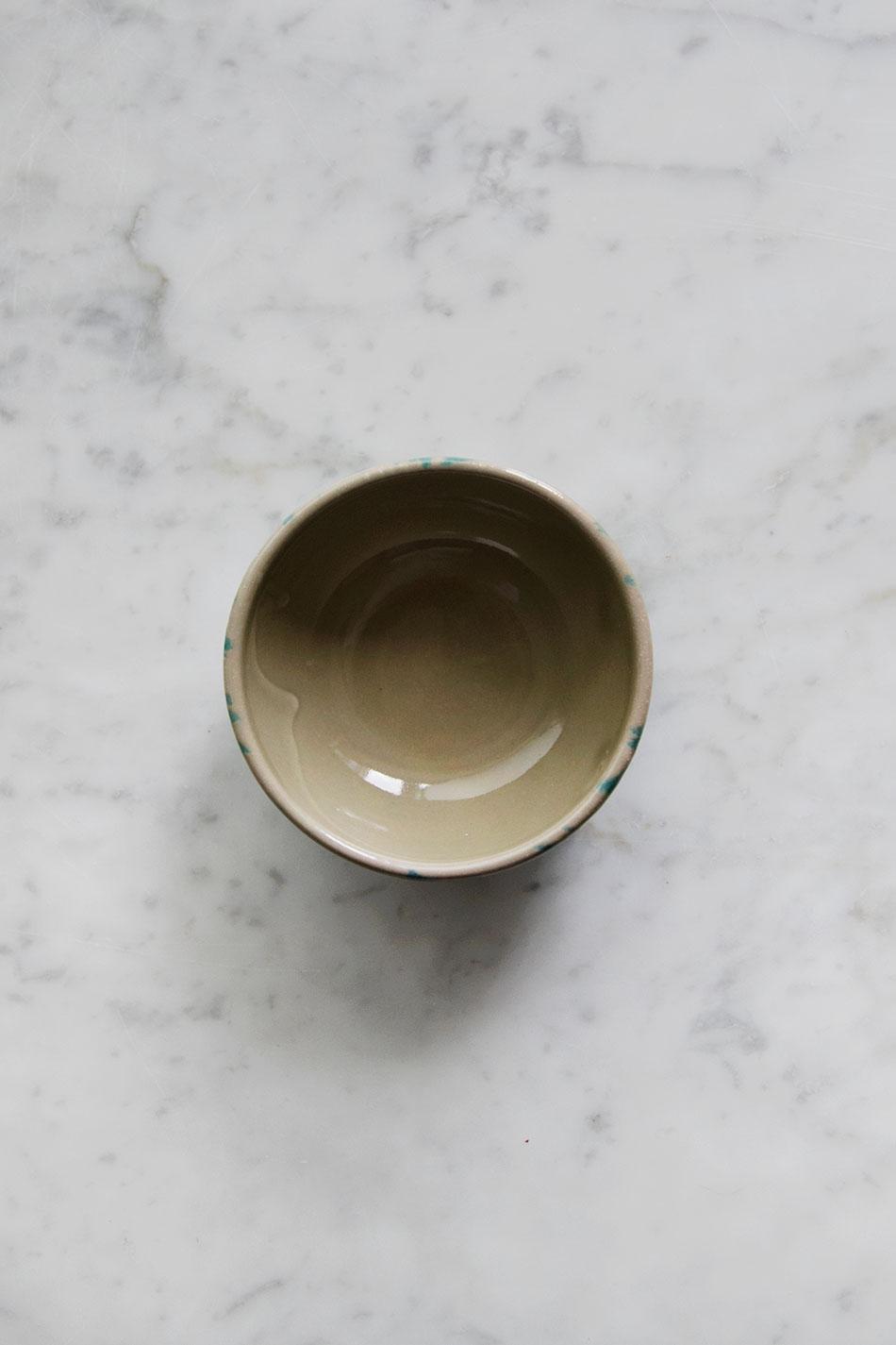 Miniskål Spruzzi Turchese