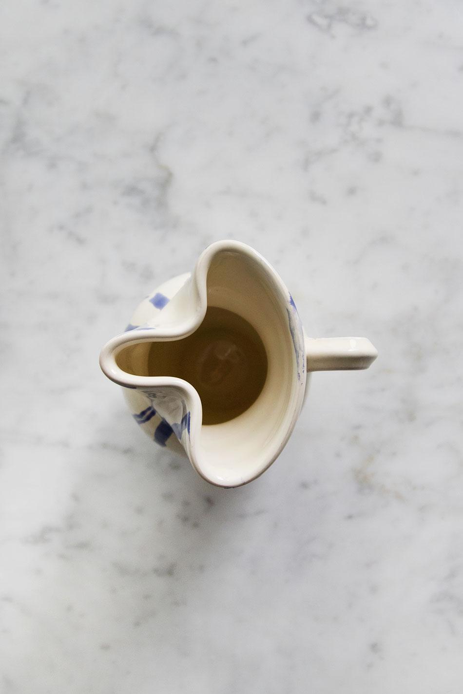 Mjölkkanna Abstract Blue