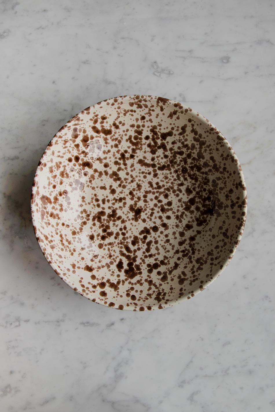 Serveringsskål Spruzzi Cioccolato 30cm
