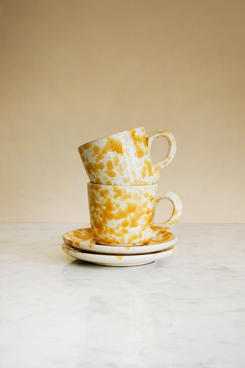 Kaffekopp Spruzzi Ambra