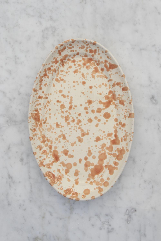 Serveringsfat Spruzzi Arancio