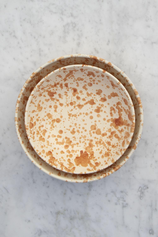 Serveringsskål Spruzzi Arancio 26cm