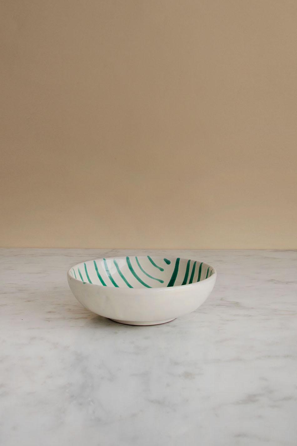 Frukostskål Abstract Verde