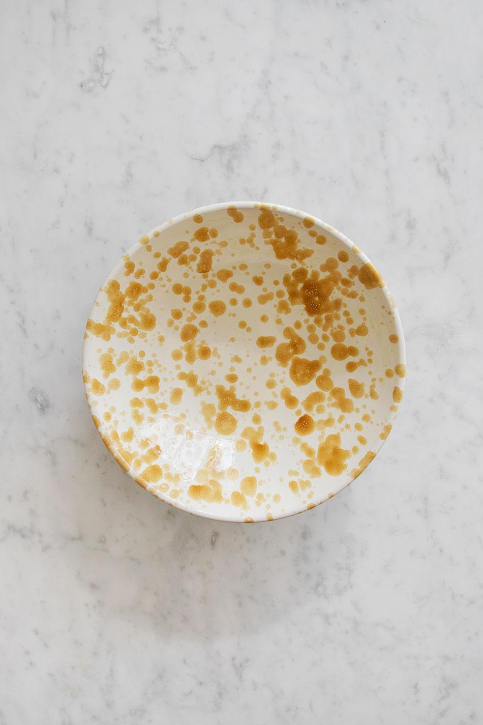 Salladsskål Spruzzi Ambra