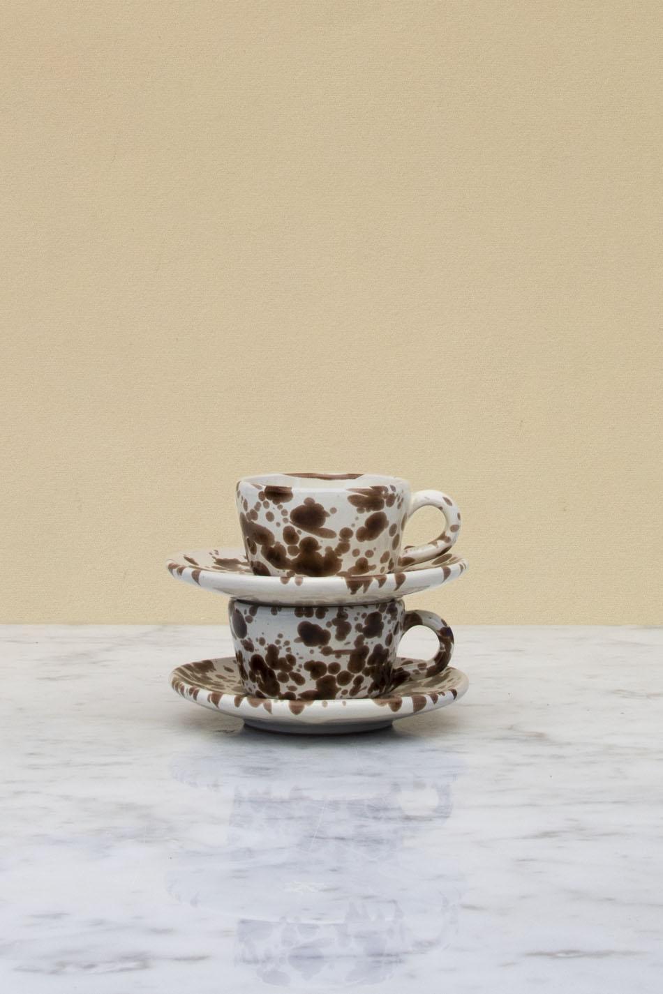 Espressokopp Enkel Spruzzi Cioccolato