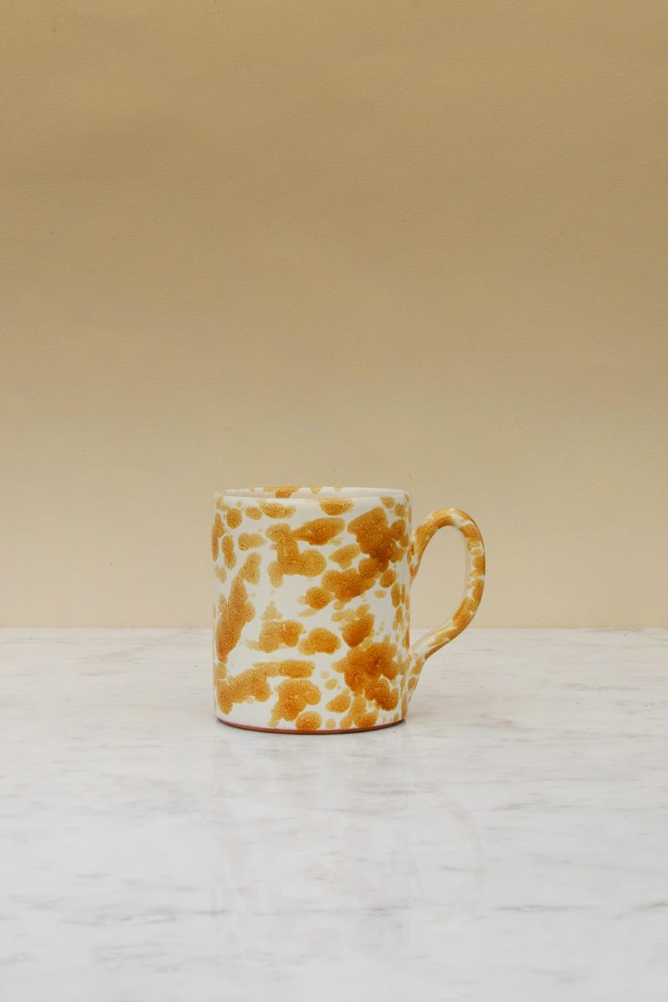 Lattemugg Spruzzi Ambra