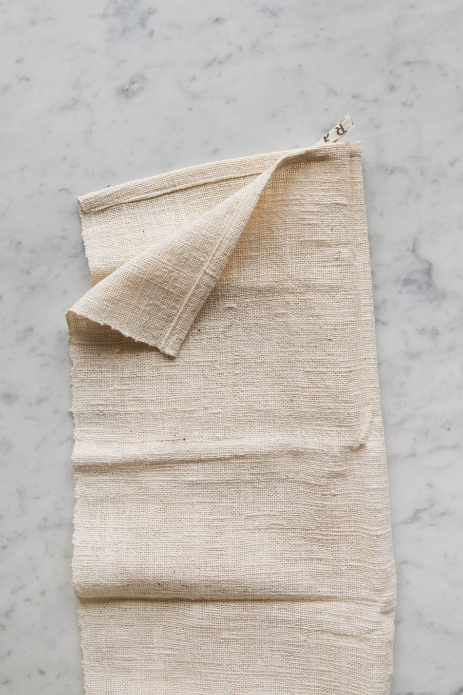Kitchen Towel Unbleached White