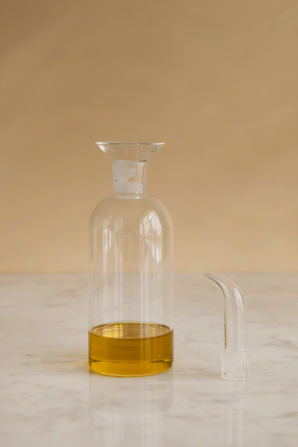 Oljekanna Glas Cylinder