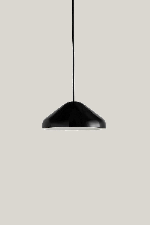 Pao Pendant Steel Soft Black  S Ø23